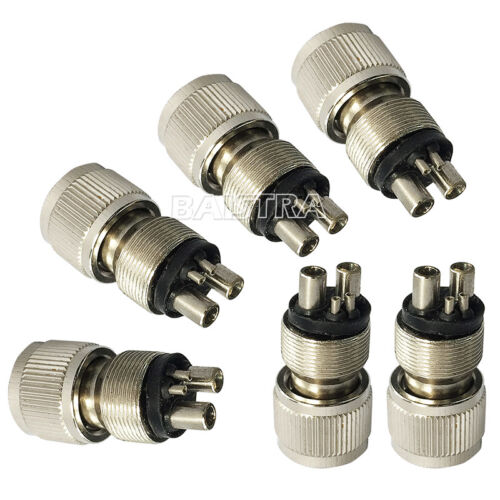 Tubo Dental Adaptador Convertidor de Conector M4 a B2 para Alta Velocidad Pieza
