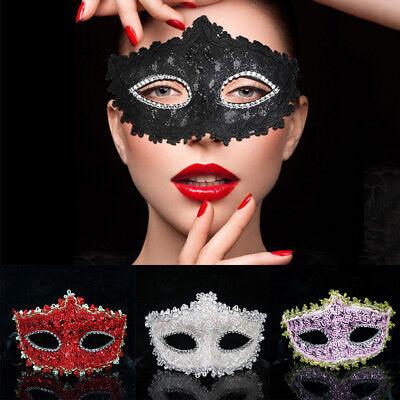 Damen Venezianische Masken Gothic Ballerina Mädchen Halloween Augenmaske Party