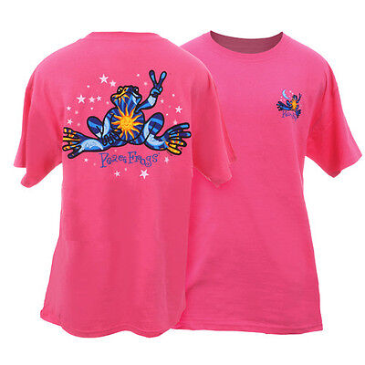 PEACE FROGS NIGHT & DAY SMALL  ADULT T-SHIRT