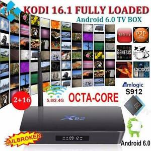 2017 KODI 16.1 Octa Core S912 Android 6.0 TV BOX 5.8G WIFI BT4.0 Noble Park Greater Dandenong Preview