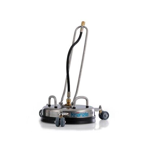 """Kranzle Pressure Washer RC 300mm 12"""" Round Stainless Steel Surface Cleaner 41105"""