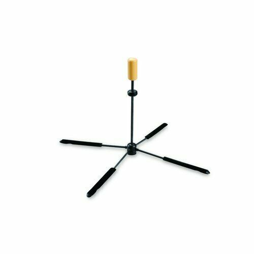 New Hercules TravLite DS461B In-Foot Joint Flute Stand