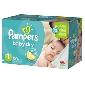 Pampers Diapers Baby Dry Size 1