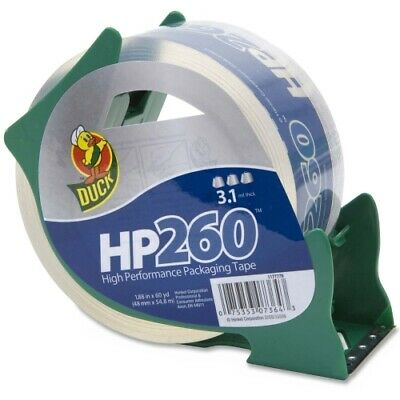 Henkel Duck Hp260 Packaging Tape With Dispenser 3 Core 1.88 X 60 Yds Clear