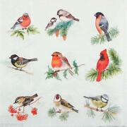 Servietten Vögel