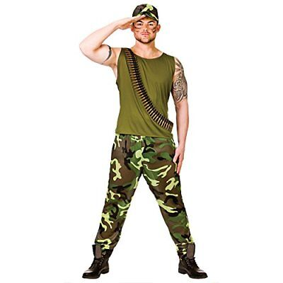 New Army Guy - Adult Costume Man L Chest 44 - Army Guy Costume