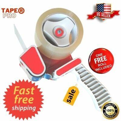 Heavy Duty Packing Tape Gun Dispenser Easy Packaging Machine Grip Sealing Cutter