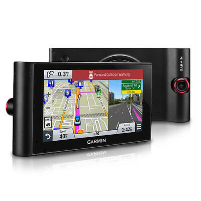 Garmin Nuvicam Lmthd 6  Gps W  Built In Dash Cam  Lifetime Map   Traffic Updates