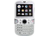 Blackberry look likes Alcatel OT-802 mobile phone only £8.