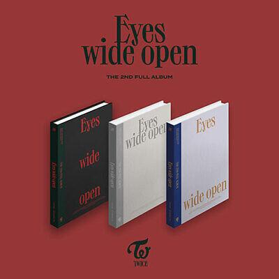 TWICE - Eyes wide open 2nd Regular KPOP Album CD+Photobook+Message Card+Sticker