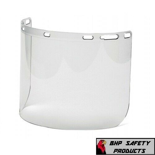 """Pyramex S1010 Clear Polyethylene Replacement Face Shield, 8"""" x 15"""" 