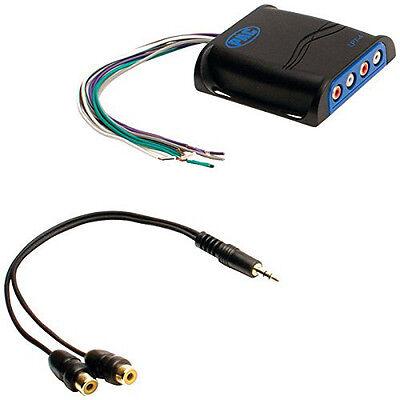 PAC LP74 PRO Series Line-Out Converter, 4 Channels
