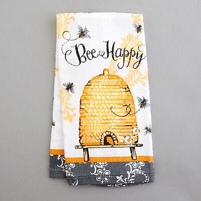 Kay Dee Designs BEE HAPPY Cotton Terry Towel QUEEN BEE