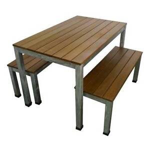 furniture bench 3 pcoutdoor dining setting melbourne cbd melbourne