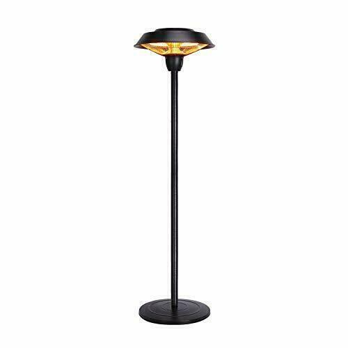 Star Patio Electric Patio Heater Freestanding Electric Outdoor Heater 1500W