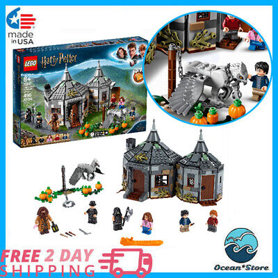 Harry Potter Hagrid's Hut: Buckbeak's Rescue 75947 Building Set LEGO, best gift (Best Harry Potter Lego Sets)