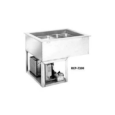 Wells Rcp-7300 3 Full Size Pan Drop-in Cold Food Well Unit