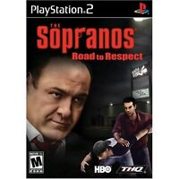 JEU GAME The Sopranos: Road to Respect - PlayStation 2