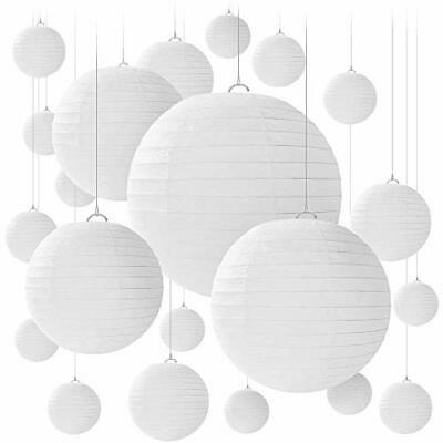 10pc White Chinese Paper Lanterns GRADUATION Party Decorations 10