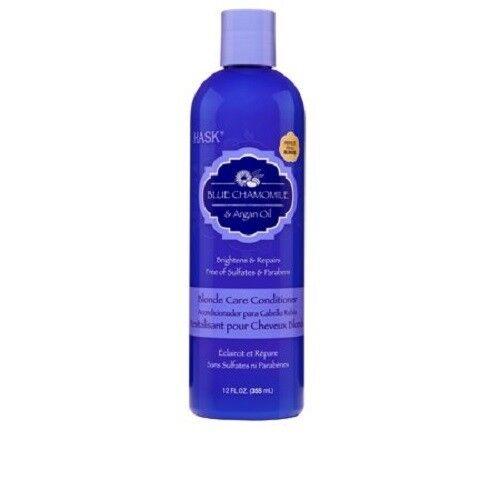 HASK Blue Chamomile & Argan Oil Blonde Care Conditioner, 12o