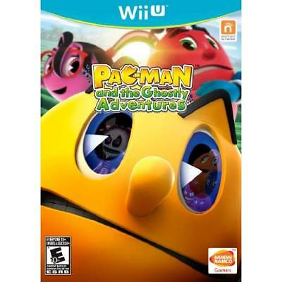 Pac-Man And The Ghostly Adventures For Wii U Game Only 9E