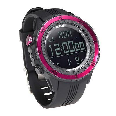 Pyle Pswwm82pn Digital Sport Watch W/ Altimeter Barometer...