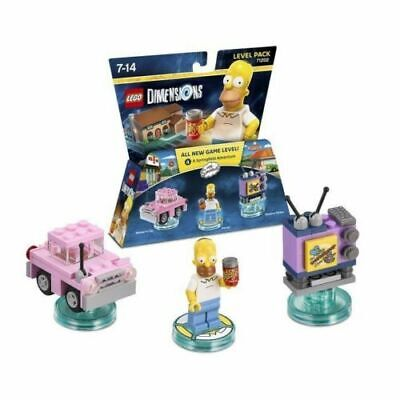 NEW Lego Dimensions Homer Simpson Level Pack 71202 PS4 Xbox Wii-u NIB set