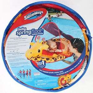 swimways baby spring float giraffe