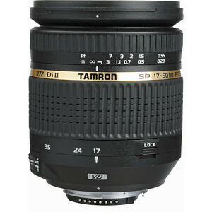 ***TAMRON for NIKON SP AF 17-50mm f/2.8 XR Di-II VC