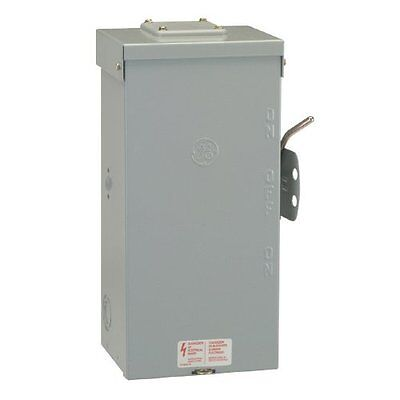 Ge 200amp 240v Non-fused Emergency Power Transfer Switch Brand New Fast Ship