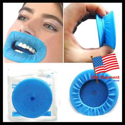 10Pcs Dental Disposable Soft Lip Sterile Rubber Dam Cheek Retractor Mouth Opener