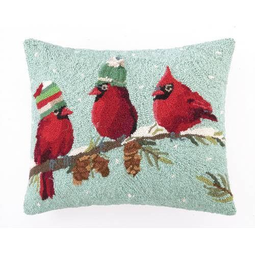 Needlepoint Christmas Pillow