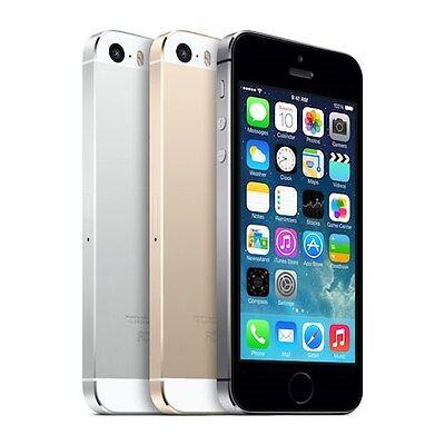Apple iPhone 5S 16GB Factory Unlocked 4G LTE iOS WiFi 8MP Camera Smartphone