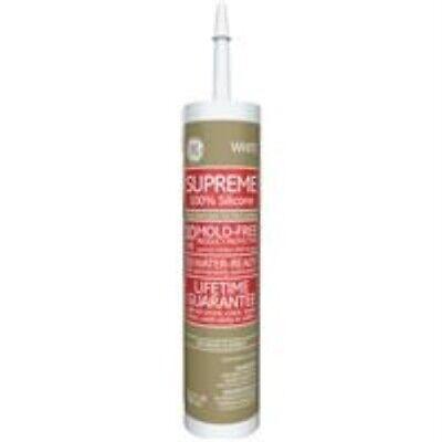 Ge Supreme 100 Silicone 30 Min. Water-ready Caulk