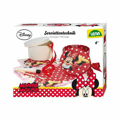 Collage de serviettes MINNIE MOUSE