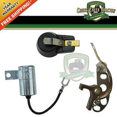 ATK6FFR NEW Ford Tractor Ignition Kit with Points Condenser Rotor 8N 9N - Ford 2n Tractor Parts