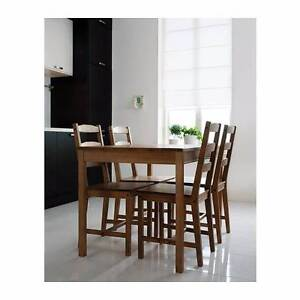 DINING TABLE SET FOR 4 IKEA Paddington Eastern Suburbs Preview