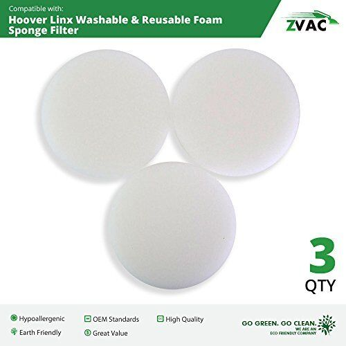 Replacement Filter Sponge For Hoover Platinum Linx BH50015 Accessories