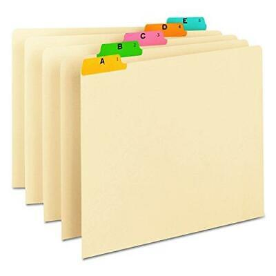 Smead Heavyweight File Guides 15-cut Tab A-z Letter Size Manila Set Of 25