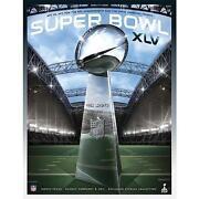 Super Bowl XLV Program