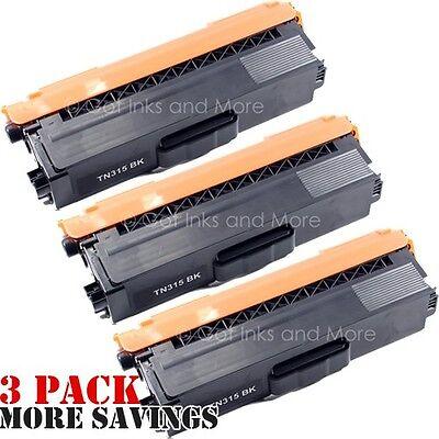 Premium Compatibles 3/pk Premium Black Toner Cartridge Co...