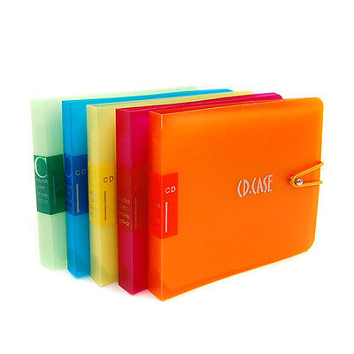 2p DISC CD DVD Music Movie Portable DJ Bag Case Holder Wallet Storage Pack Carry