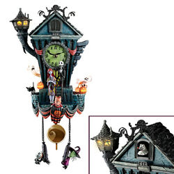 Nightmare Before Christmas Disney Tim Burton Cuckoo Clock Bradford Exchange