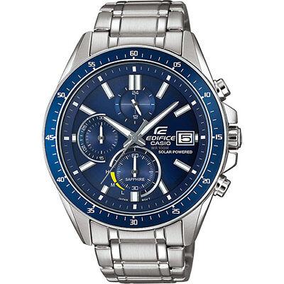 Casio Edifice Sapphire Crystal  Chronograph Solar Powered Watch (Chronograph Sapphire Wrist Watch)
