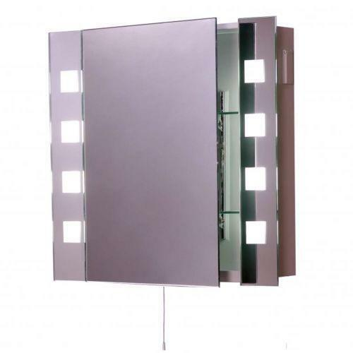 Illuminated Bathroom Mirror Cabinet Ebay