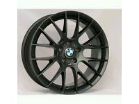 "SET OF 4 X BMW 19"" 5X120 CSL STYLE ALLOY WHEELS WILL FIT BMW M3 M4 M5 M6, T5 RANGE ROVER AND MORE"