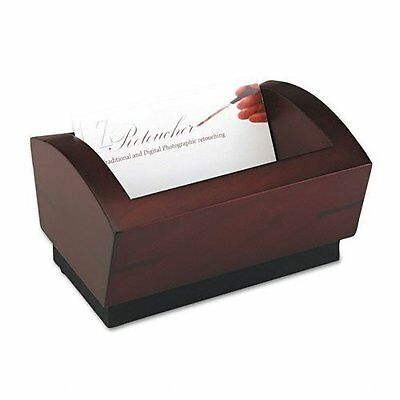 Rolodex Executive Woodline Ii Business Card Holder - Rol19386