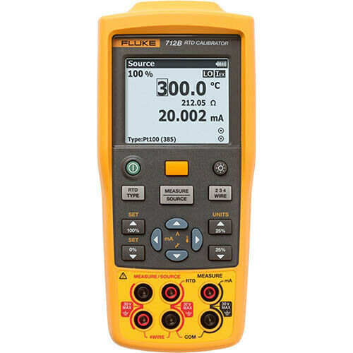 Fluke 712B Temperature Calibrator, 13 RTD Types/Resistance