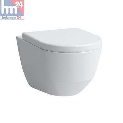 Laufen Pro S Wandtiefspül-WC Compact spülrandlos 8209650000001 inkl. WC-Sitz