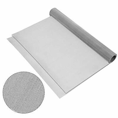 2rolls 304 Stainless Steel Woven Wire 120 Mesh Filter Screen Sheet Filtration C